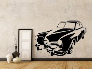 Samolepka na zeď Auto 033