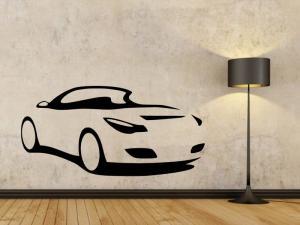 Samolepka na zeď Auto 0891