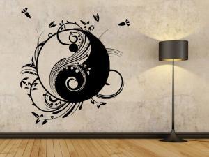 Samolepka na zeď Jing Jang 0194