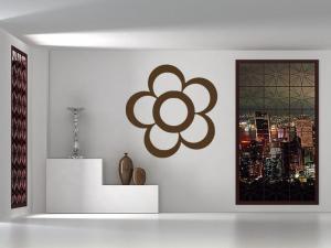 Samolepka na zeď Květ 001
