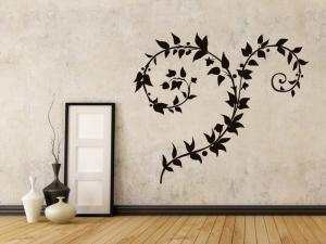 Samolepka na zeď Ornamenty z rostlin 038