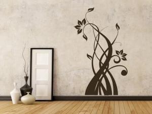 Samolepka na zeď Rostlina 011
