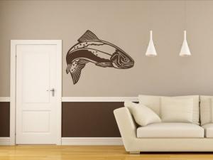 Samolepka na zeď Ryba 001