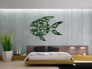 Samolepka na zeď Ryba 004