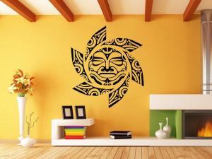 Samolepka na zeď Slunce 0192
