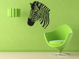 Samolepka na zeď Zebra 014
