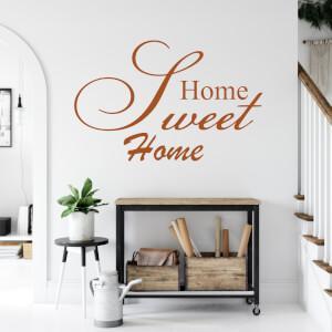 Samolepky na stenu - Home sweet home