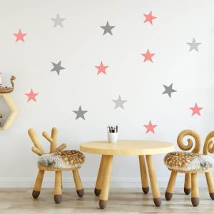 Samolepky na stenu - Marhuľové hviezdy
