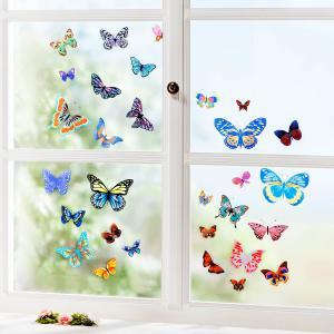 Samolepky na stenu Motýle, 60 ks