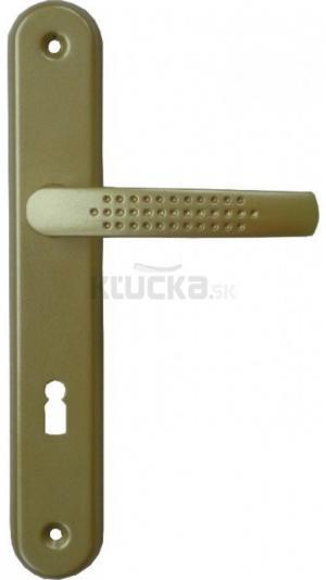 SANDRA kľučka na dvere, Biela, 72mm, na Vložku