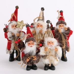 Santa Claus figúrka Farba: červená, Veľkosť: S