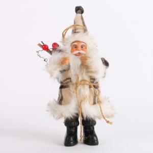 Santa Claus figúrka Farba: svetlo šedá, Veľkosť: M