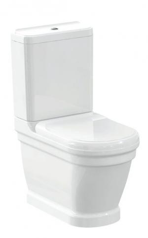 SAPHO - ANTIK WC kombi, spodný/zadný odpad, biela WCSET08-ANTIK