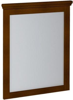 SAPHO - CROSS zrkadlo 600x800x35mm, mahagon (CR011)
