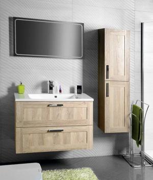 SAPHO - Kúpeľňový set AMIA 90, dub Texas (KSET-016)