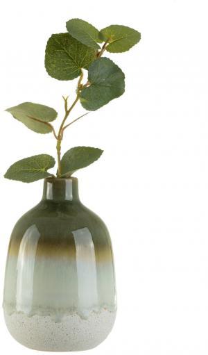 sass & belle Keramická váza Mojave Green Glaze