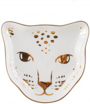 sass & belle Porcelánový tanierik na šperky Leopard Love