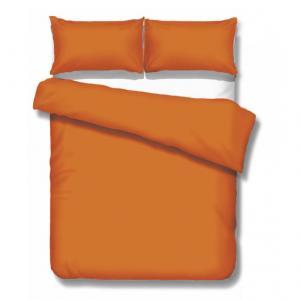 Posteľné obliečky ORANGE | 100% bavlnený satén | Oranžová | 140x200 70x90