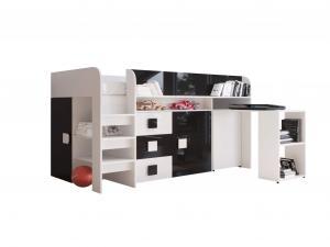 SB Multifunkčná posteľ Toledo 1 Farba: Ružová