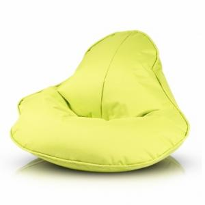Ecopuf Sedací vak ECOPUF - FROG - polyestér NC1 - Svetlo zelená