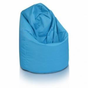 Sedací vak ECOPUF - GIGA SAKO - polyester NC6 - Modrá