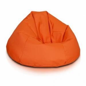 Ecopuf Sedací vak ECOPUF - RELAX - polyester NC9 - Oranžová
