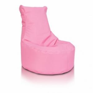Ecopuf Sedací vak ECOPUF - SEAT L - polyester NC10 - Rúžová