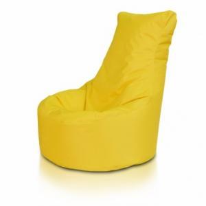 Ecopuf Sedací vak ECOPUF - SEAT L - polyestér NC4 - Žltá