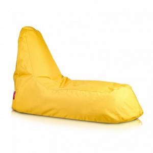 Ecopuf Sedací vak ECOPUF - SLOPE - polyestér NC4 - Žltá