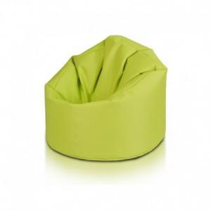 Ecopuf Sedací vak ECOPUF - STAR - polyester NC1 - Svetlo zelená