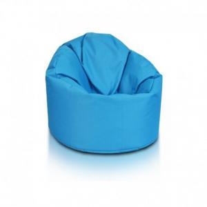 Ecopuf Sedací vak ECOPUF - STAR - polyester NC6 - Modrá