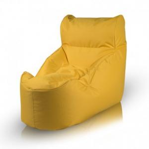 Ecopuf Sedací vak ECOPUF - UNDO - polyestér NC4 - Žltá