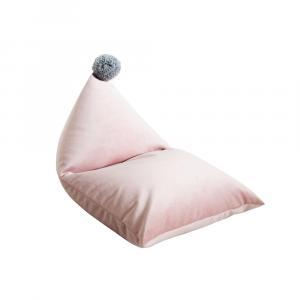 Sedací vak Pom Pom Pinkie - Púdrovo ružový
