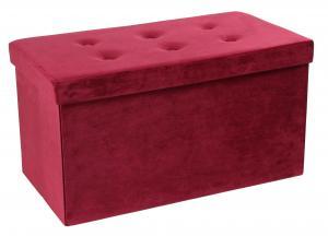 Sedacia Lavica Velvet Ružová
