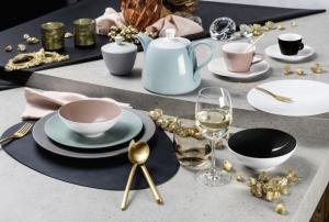 Seltmann Weiden MISKA NA CEREÁLIE, keramika, 15,5 cm - čierna