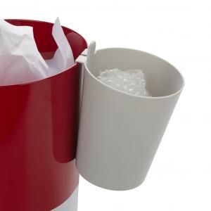 Separačná nádoba na kôš Balvi Mr.Recycler 27462, sivá