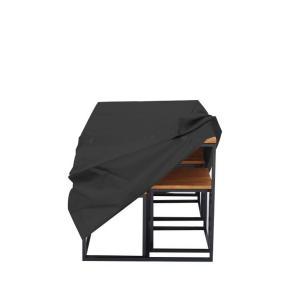 Set záhradného nábytku ALOIS | čierna
