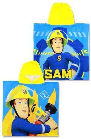 Setino, Detské pončo Požiarnik SAM