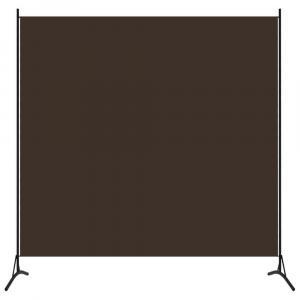 shumee 1-panelový paraván hnedý 175x180 cm