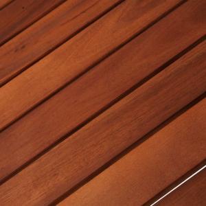 shumee Bistro stolík z akáciového dreva 85x43x75 cm