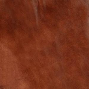shumee Hojdacie kreslo, hnedé, pravá koža a mangový masív