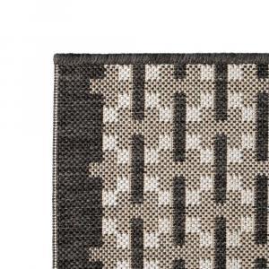 shumee Koberec, sisalový, vnútorný/vonkajší, 140x200 cm, štvorce