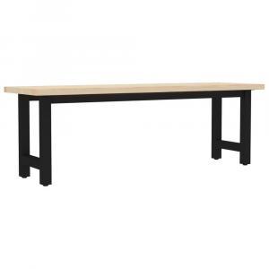 shumee Lavica 155x40x45 cm borovicové drevo