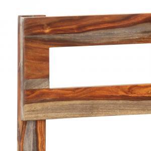 shumee Posteľný rám, drevený masív sheesham 160x200 cm