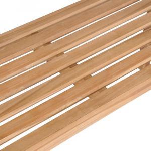 shumee Záhradná lavička 120 cm, tíkový masív
