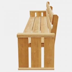 shumee Záhradná lavička 160 cm, impregnovaná borovica