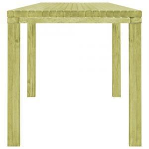 shumee Záhradný jedálenský stôl 170x75,5x77 cm, impregnovaná borovica