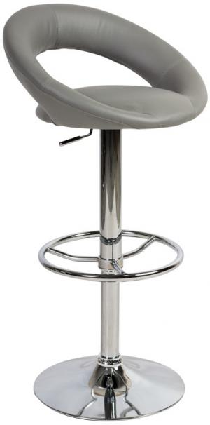 SIGNAL C-300 barová stolička sivá