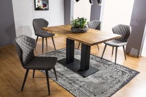 Signal Jedálenský stôl Sauron / Dubová dýha Prevedenie: 120 x 80 cm