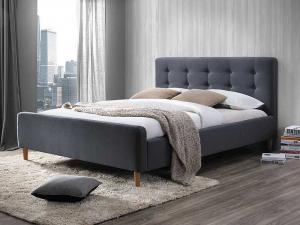 Signal Manželská posteľ PINKO Farba: Sivá